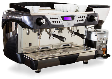 Repairs on coffee machines used in gastronomy